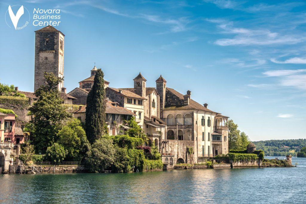Novara vista lago